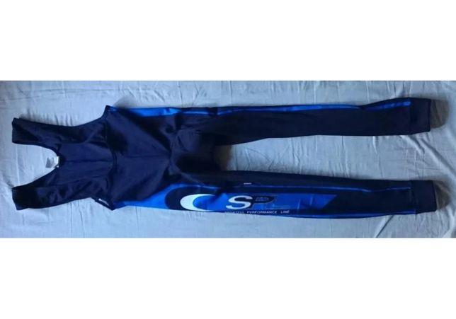 NOWE spodnie długie kolarskie ocieplane Sportful r. XL