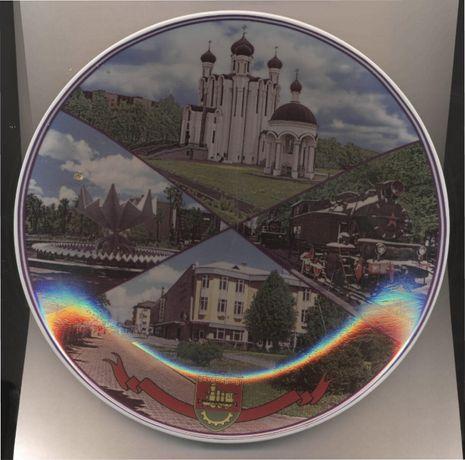 Сувенирные тарелки из Беларуси