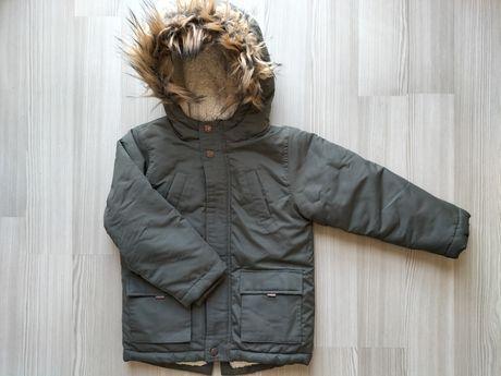 Куртка теплая 110/116