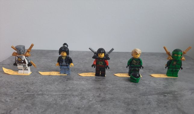 Lego ninjago figurki - na sztuki