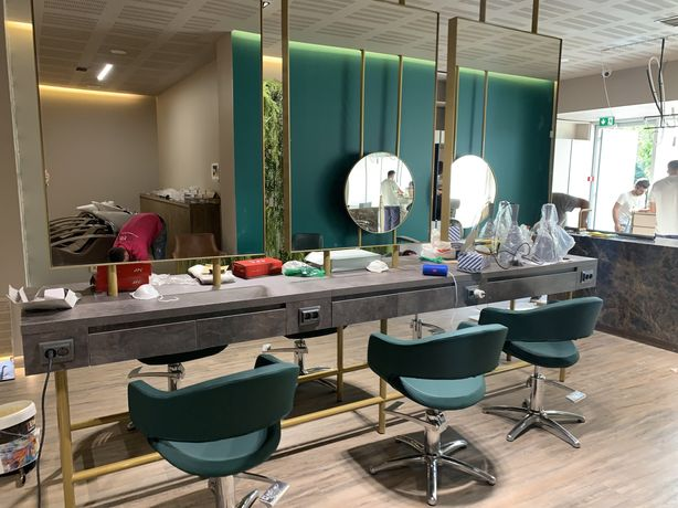 Mobiliario cabeleiriro por medida