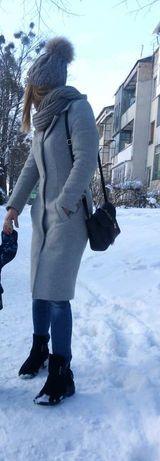 Зимове шерстяне пальто X's  - xxs