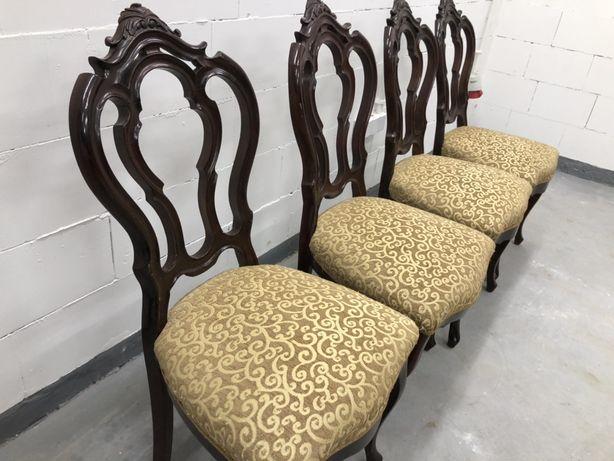 Unikatowe zabytkowe secesyjne krzesla