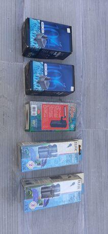 Filtros interiores e bombas de água para aquário pequeno