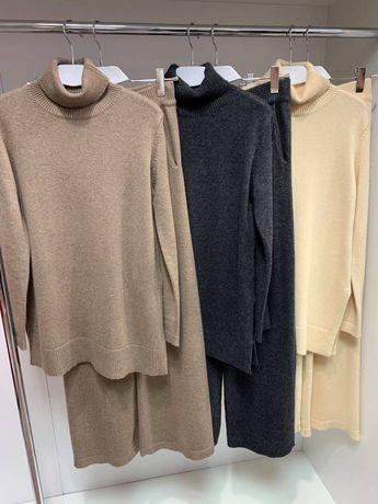Костюм женский кашемировый ( брюки, свитер)
