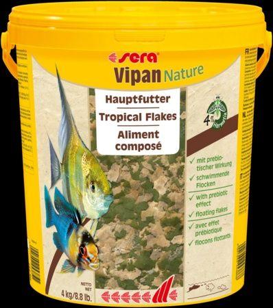 Корм для рыб Sera Vipan Nature Хлопья основной корм для всех видов рыб