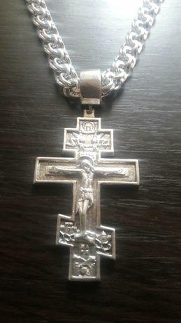 13 руб крест и цепь 925 пробы кардинал