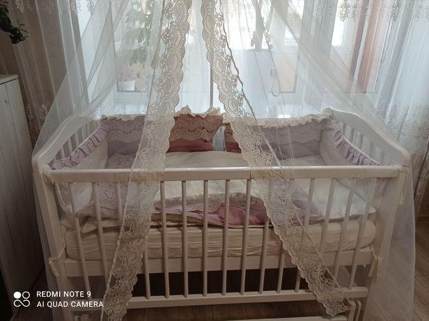 Повний комплект Бортики в дитяче ліжечко