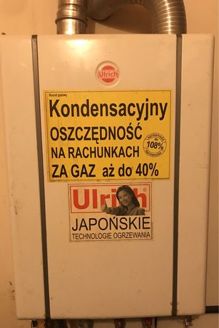 piec gazowy dwufunkcyjny Urlich KO21