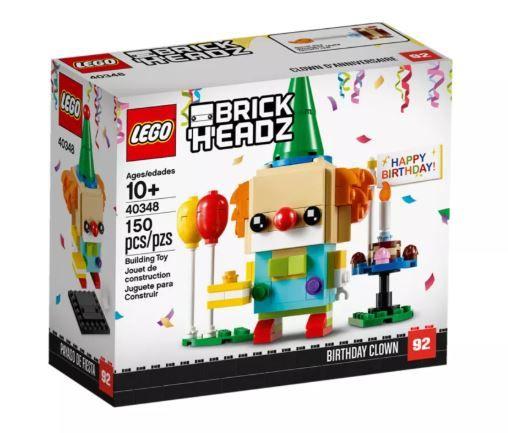 Lego 40348 Brick Headz Birthday Clown