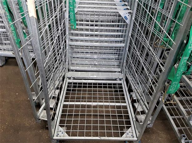 Wózek Gniazdowy Transportowy Siatkowy Platforma 80x67x190cm -TANIO!!