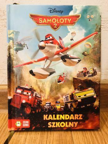 Kalendarz szkolny Samoloty 2, Disney. Dla fana samolotów.