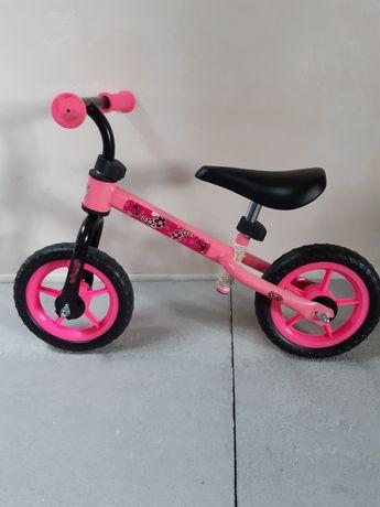 Rower biegowy różowy