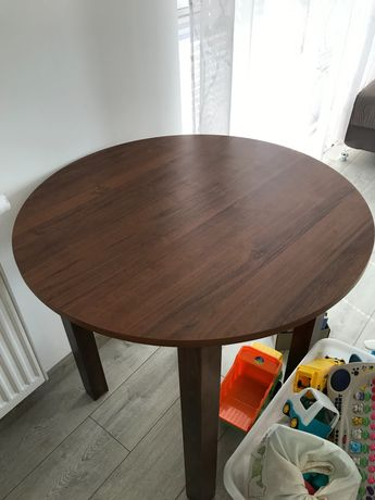 Stół okrągły nie rozkładany  80x80