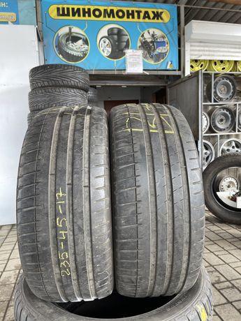 Автошины резина колёса 235/45R17 Michelin Pilot Sport 3. ПАРА.