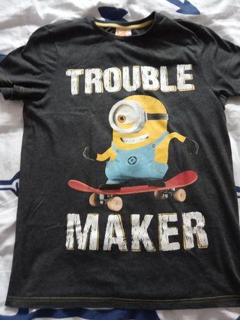 T-shirt koszulka Minionki 4szt