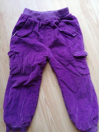 Sztruksowe spodnie