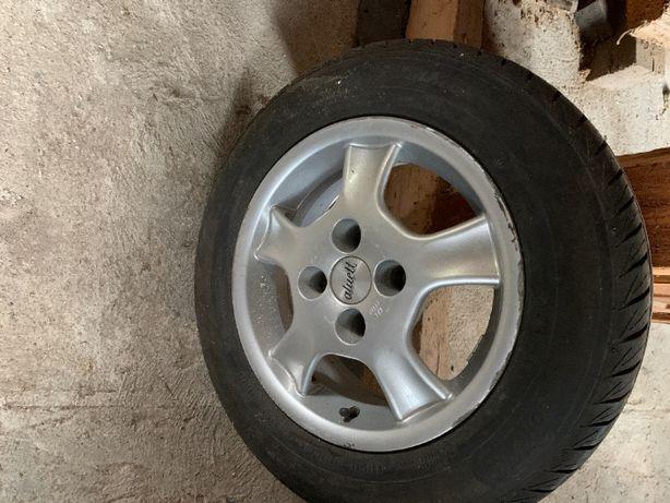Felgi aluminiowe Aluett (niemieckie) - komplet 4 szt. R14