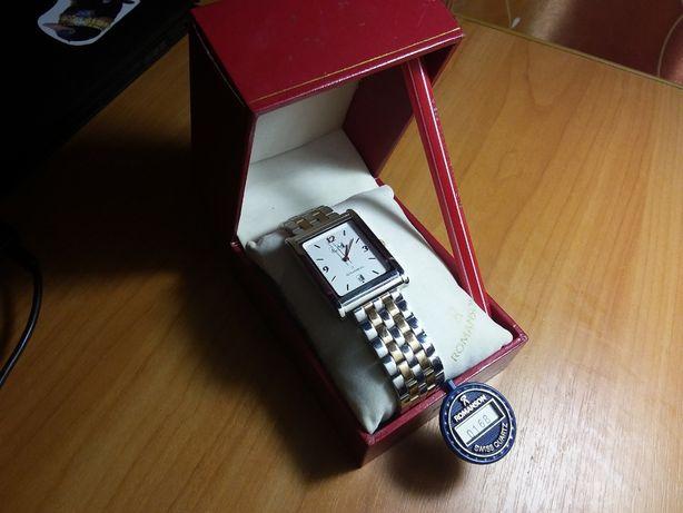 Часы новые в коробке Romansons.Швейцарский механизм