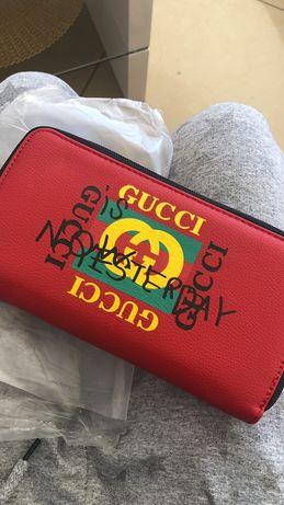 Portfel czerwony Gucci nowy damski