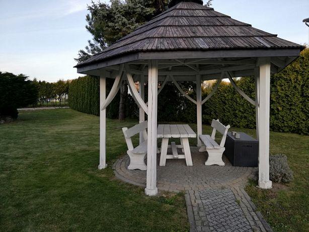 Altana +2 ławki+stół