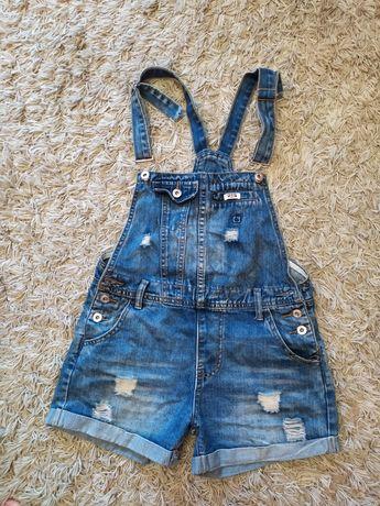 Комбинезон джинсовый шорты на 12-14лет