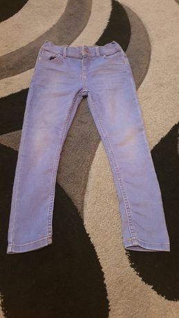 Spodnie jeansowe dla dziewczynki F&F rozm. 128