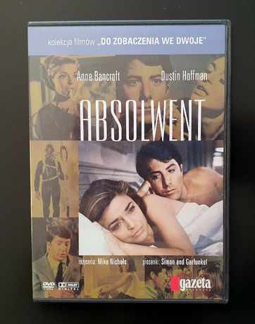 Absolwent Dustin Hoffman romans 1967 M. Nichols