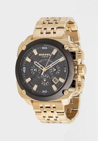 Zegarek Diesel chronograficzny kwarcowy Złoty GOLD