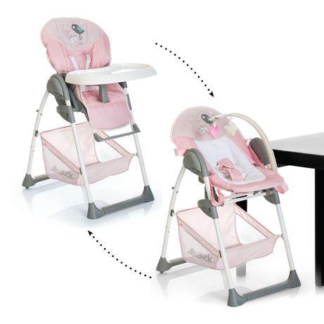 Hauck krzesełko do karmienia Sit'n Relax 2w1 6m+/do 15kg kolor różowy