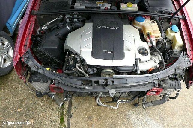 Motor Audi A4 A5 A6 2.7Tdi V6 177cv 190cv BSG CAM CGK CAN BPP Caixa de Velocidades Automatica + Motor de Arranque  + Alternador + compressor Arcondicionado + Bomba Direção