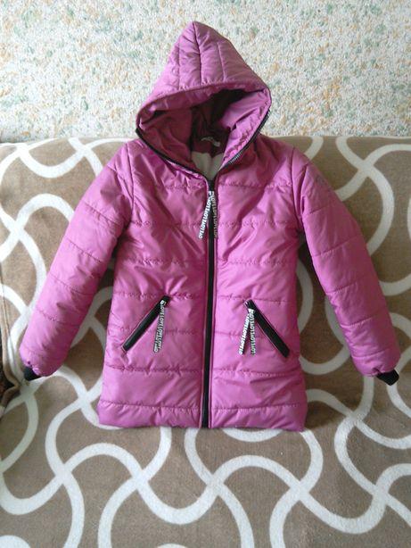 Куртка теплая, рост 140