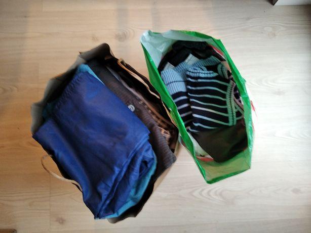 Zestaw paczka ubranka dla chłopca 62-74 i większe