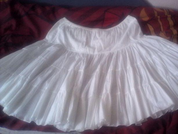Spódnica biała 40