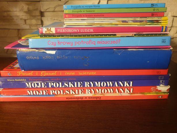 Książki dla dzieci 20 szt.
