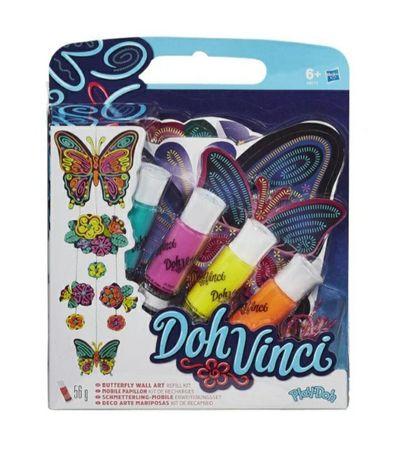 DohVinci zestaw kreatywny + tuby uzupełniające, brokatowe + gratis