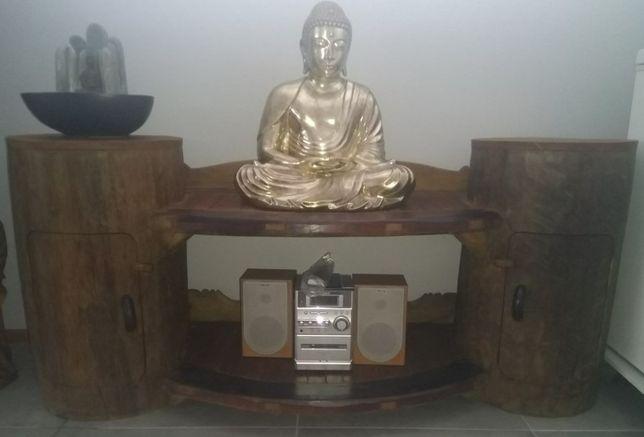 Móvel Oriental– aparador, tv, outros - em madeira maciça TEKA