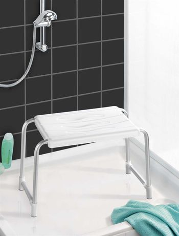 WENKO stołek prysznicowy siedzisko pod prysznic taboret do brodzika