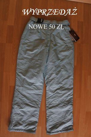 spodnie narciarskie damskie rozmiar XL NOWE