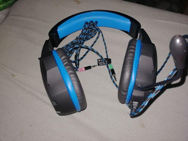 Słuchawki Tracer Exper Blue z mikrofonem