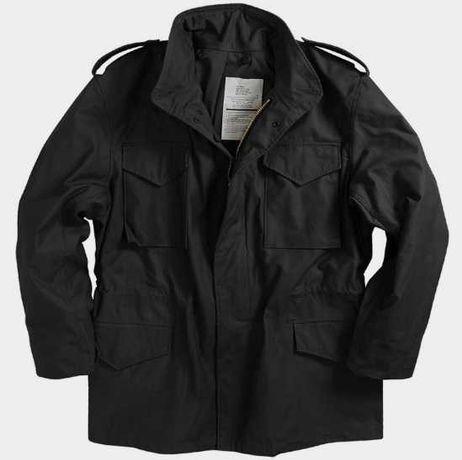 Нова Куртка Alpha Industries M-65 Field Coat XXL Black оригінал США