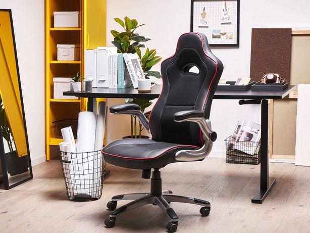 Cadeira de escritório preta - Cadeira gamer - Ajustável - MASTER - Beliani