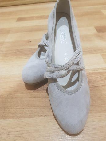 Туфлі жін.,41р,нат.замш,Gabor