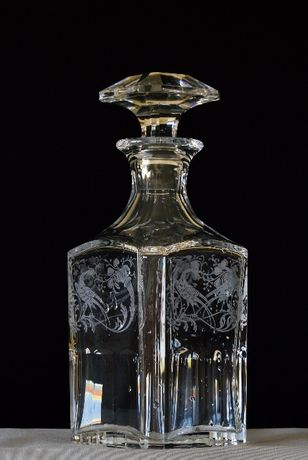 Garrafa de cristal Kirin Collection´s Baccarat