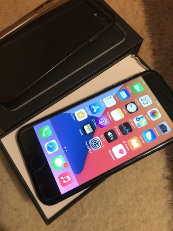 Iphone (айфон) 7 128gb black neverlock, идеален, еще на гарантии
