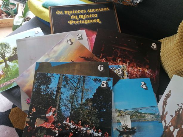 Colecção Vinis música Portuguesa