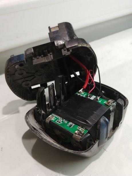 Перепаковка переделка шуруповерта на литиевые li-ion аккумуляторы 12В
