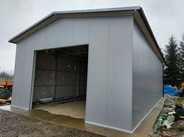 Hala hale garaże konstrukcje stalowe myjnie montaż płyt warstwowych