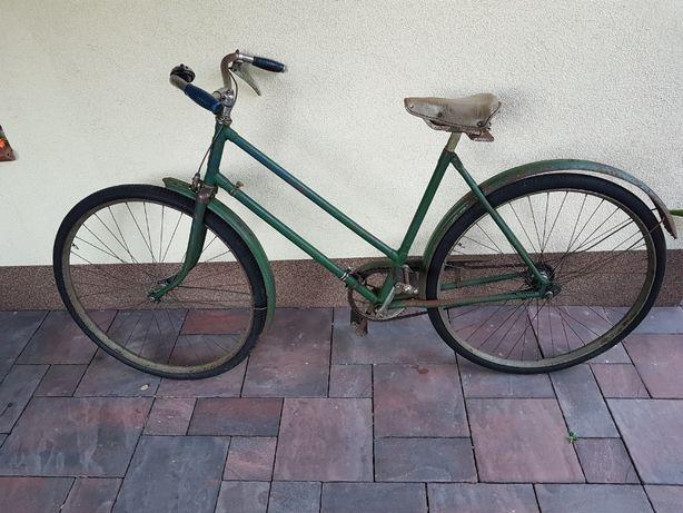 Stary zabytkowy rower Ukraina