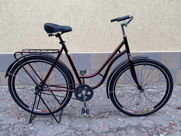 """Велосипед 28"""" женский РЕТРО дамский ЧЕХИЯ высокое качество АИСТ"""